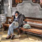Obdachlos ...