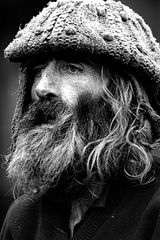 Obdachloser Ire