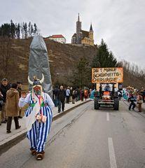 Obelix zu Besuch in Judendorf-Straßengel!