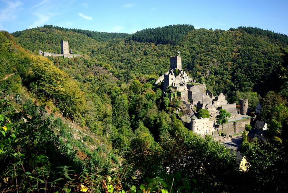 Ober- und Niederburg Manderscheid / Eifel