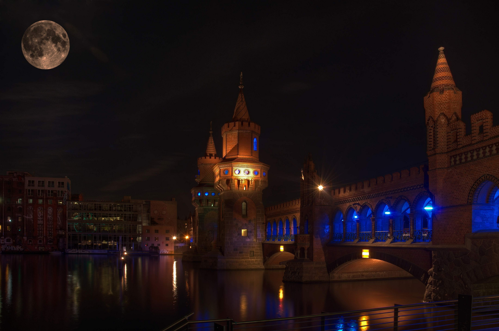 Oberbaumbrücke - festival of light