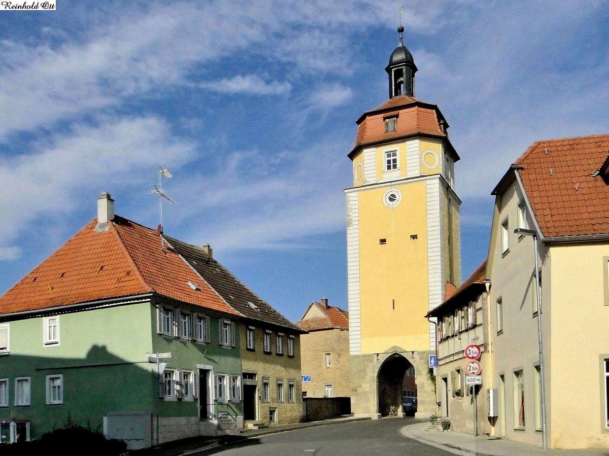 Oberes Tor von Mainbernheim.