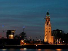Oberfeuer Bremerhaven - Simon-Loschen-Leuchtturm