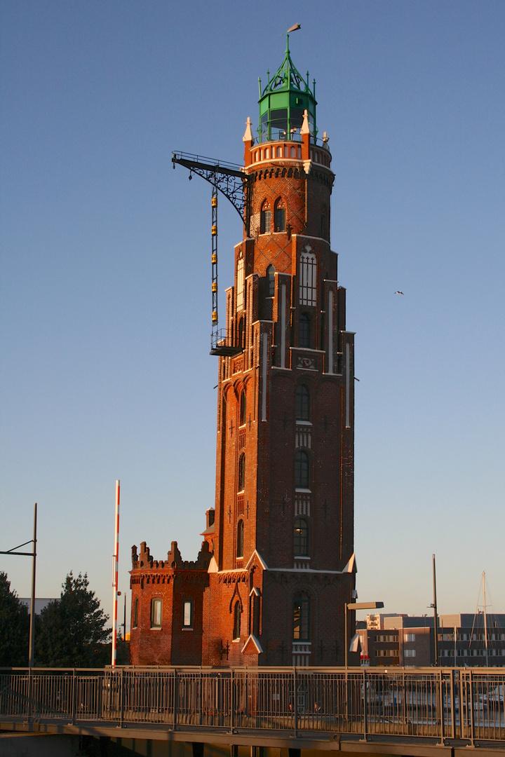 Oberfeuer(Simon-Loschen-Leuchtturm) Bremerhaven Deutschland
