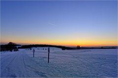 Oberharzer Sonnenuntergang