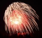 Oberhausen Sterkrade im Feuerwerk