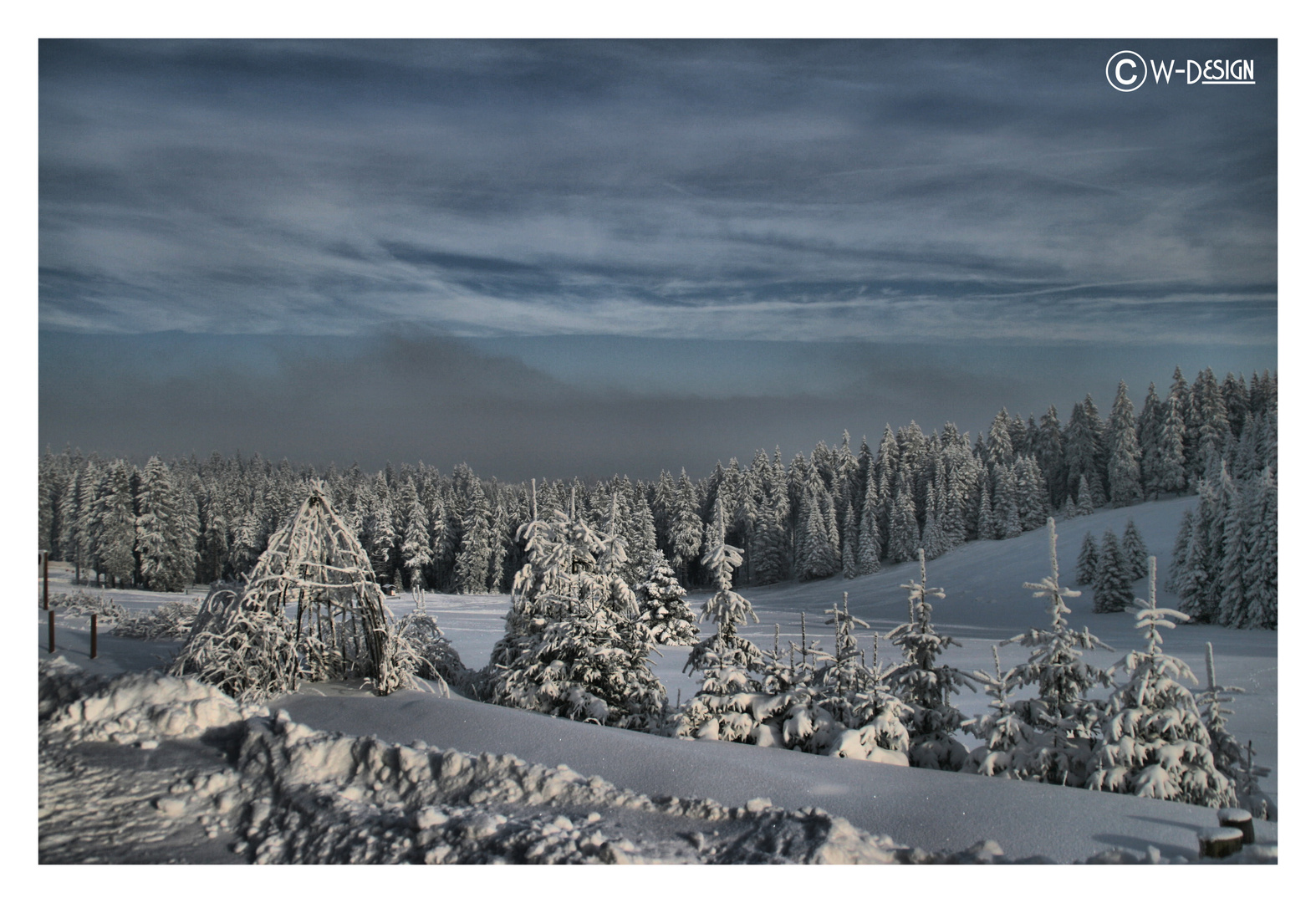 Oberhof, ein Wintermärchen