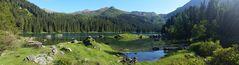 Obernberger See am späten Nachmittag