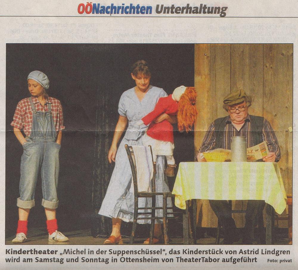 Oberösterreichische Nachrichten vom 28.1.2012