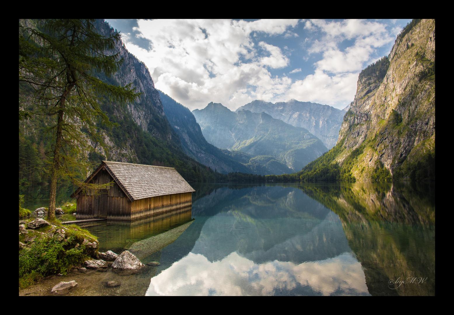 Obersee - Nationalpark Berchtesgaden