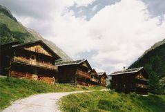 Oberstalleralm I Villgratental 1986