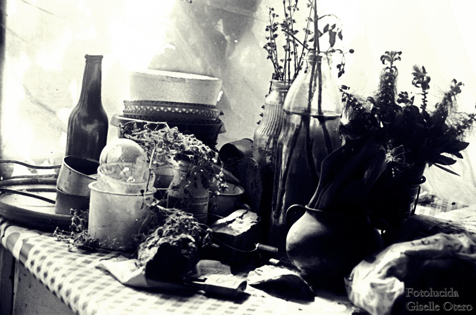 objetos olvidados