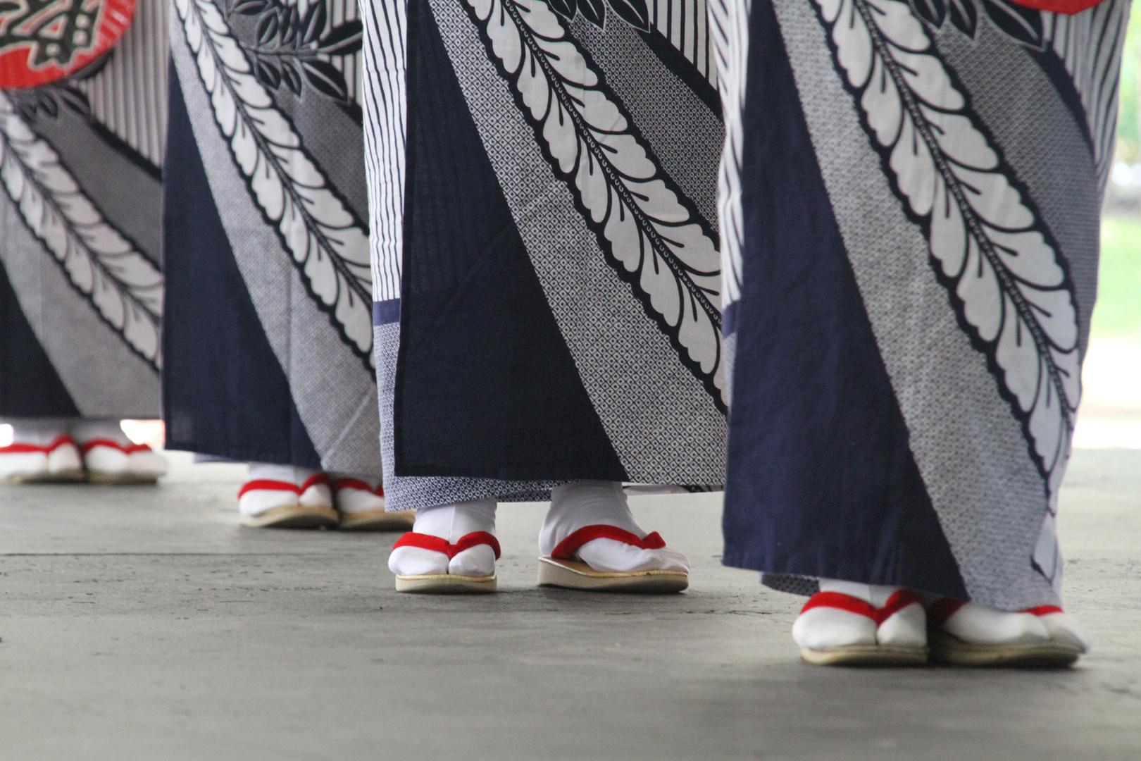 Obon Festival Dancers