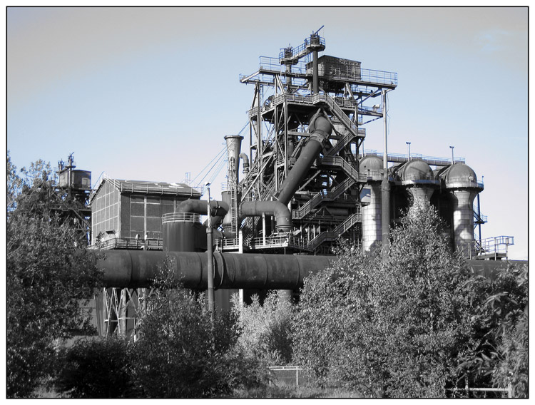 ...obsolete blast-furnace...