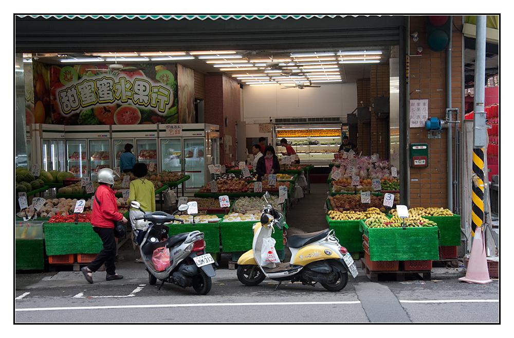 Obst einkaufen