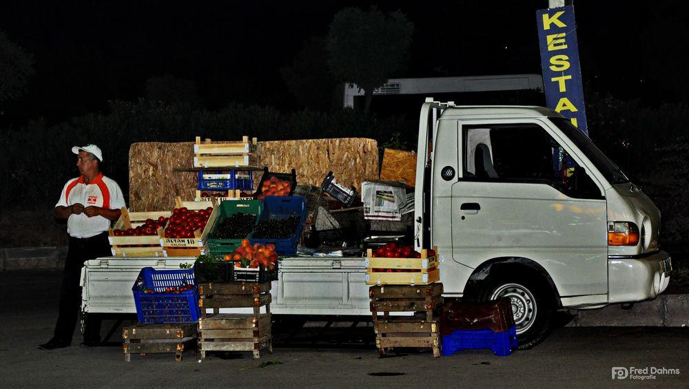 Obst und Gemüse, Türkisch pazar