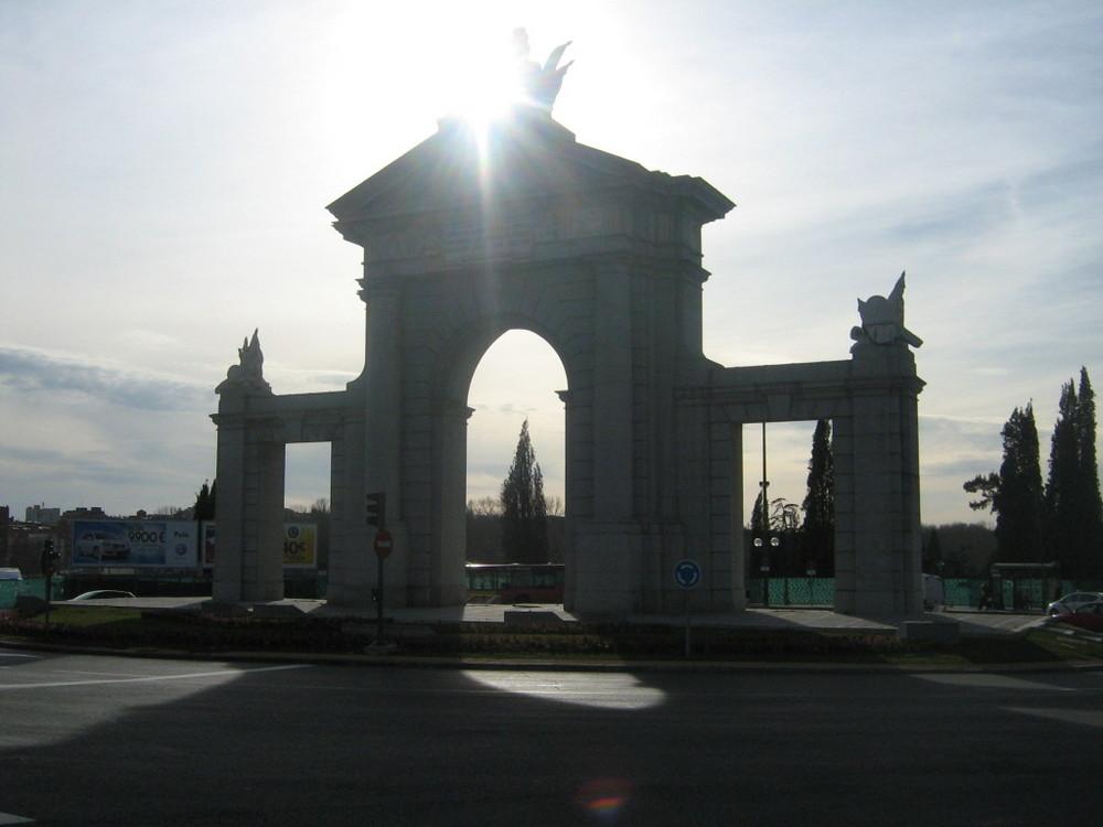 Ocaso en Madrid