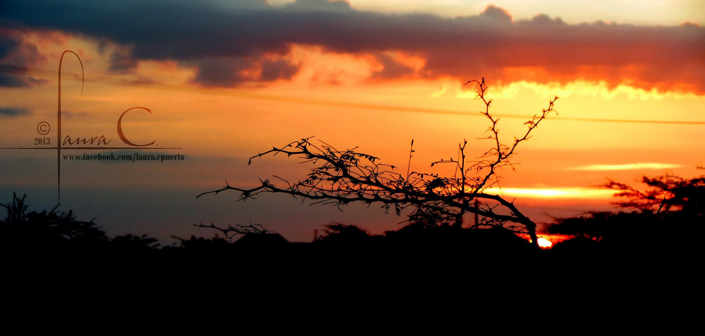 ocaso- sunset