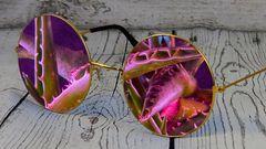 occhiali alieni