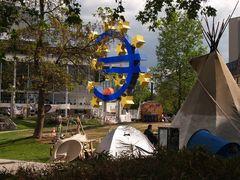 Occupy-Camp vor der EZB