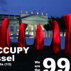 Occupy Kassel Documenta - Time guards Manfred Kielnhofer