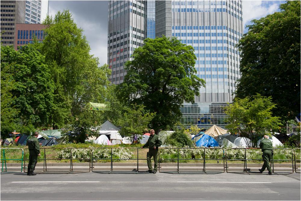 Occupy occupied...