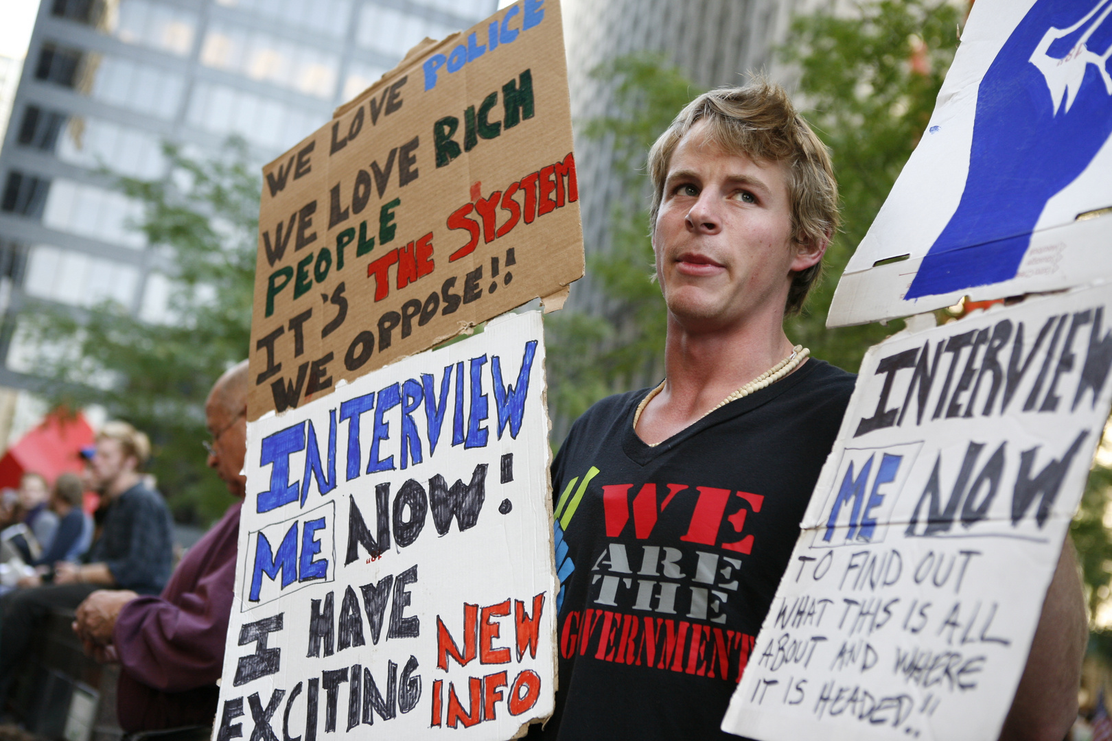 Occupy Wall Street protest.