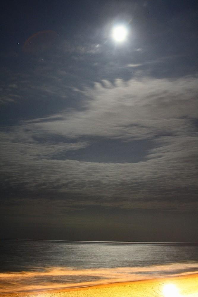 Ocean City Maryland Moonlight