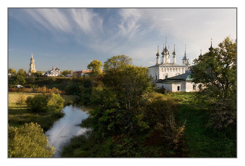 October in Suzdal
