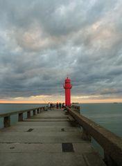 Octobre au-dessus de la digue de Boulogne/Mer