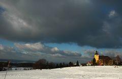 Odenwald, weiß-dräuend