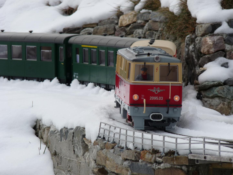 Obb 760mm Romantik Auf Der Gartenbahn Foto Bild Modell