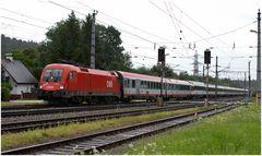 ÖBB BABSI mit dem Transalpin (EC164) in Timelkam