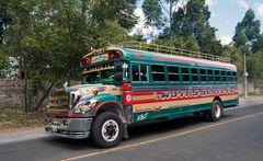 Öffentlicher guatemaltekischer Personennahverkehr ~ 3 ~