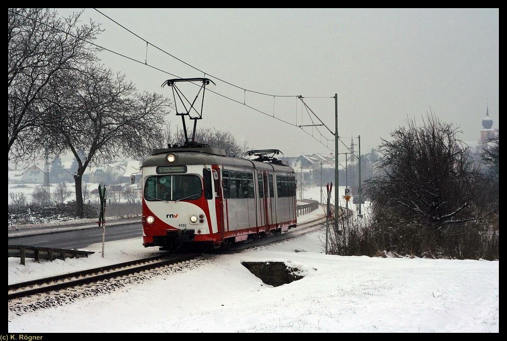 OEG 4102 bei Hohensachsen