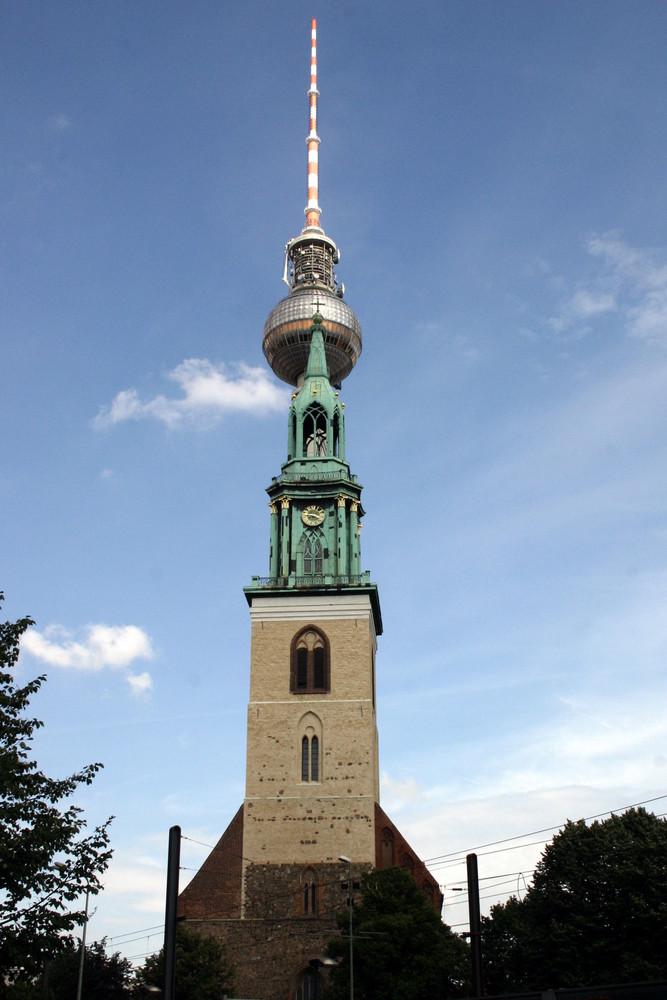 Ökumene in Berlin - St. Marien und St. Walter