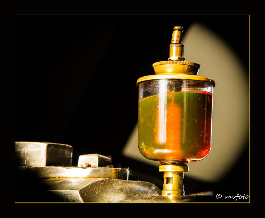 Ölbehälter Fördermaschine