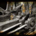 Öler an einer Dampfmaschine