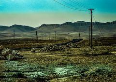 Ölfelder in Sichtweite..   .120_4059