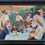 Ölgemälde  Das Frühstück der Ruderer von Pierre-Auguste Renoir