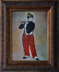 Ölgemälde Der Pfeifer von Douard Manet