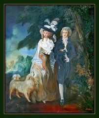 Ölgemälde, von Thomas Gainsborough