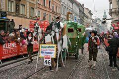 """""""Ölspurkutscher"""" beim Faschingsumzug in Graz 2009"""