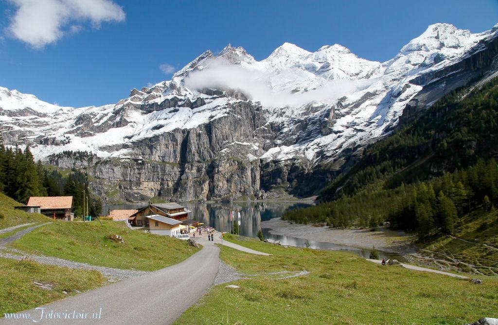 Oeschinensee Zwitserland www.fotovictoir.nl