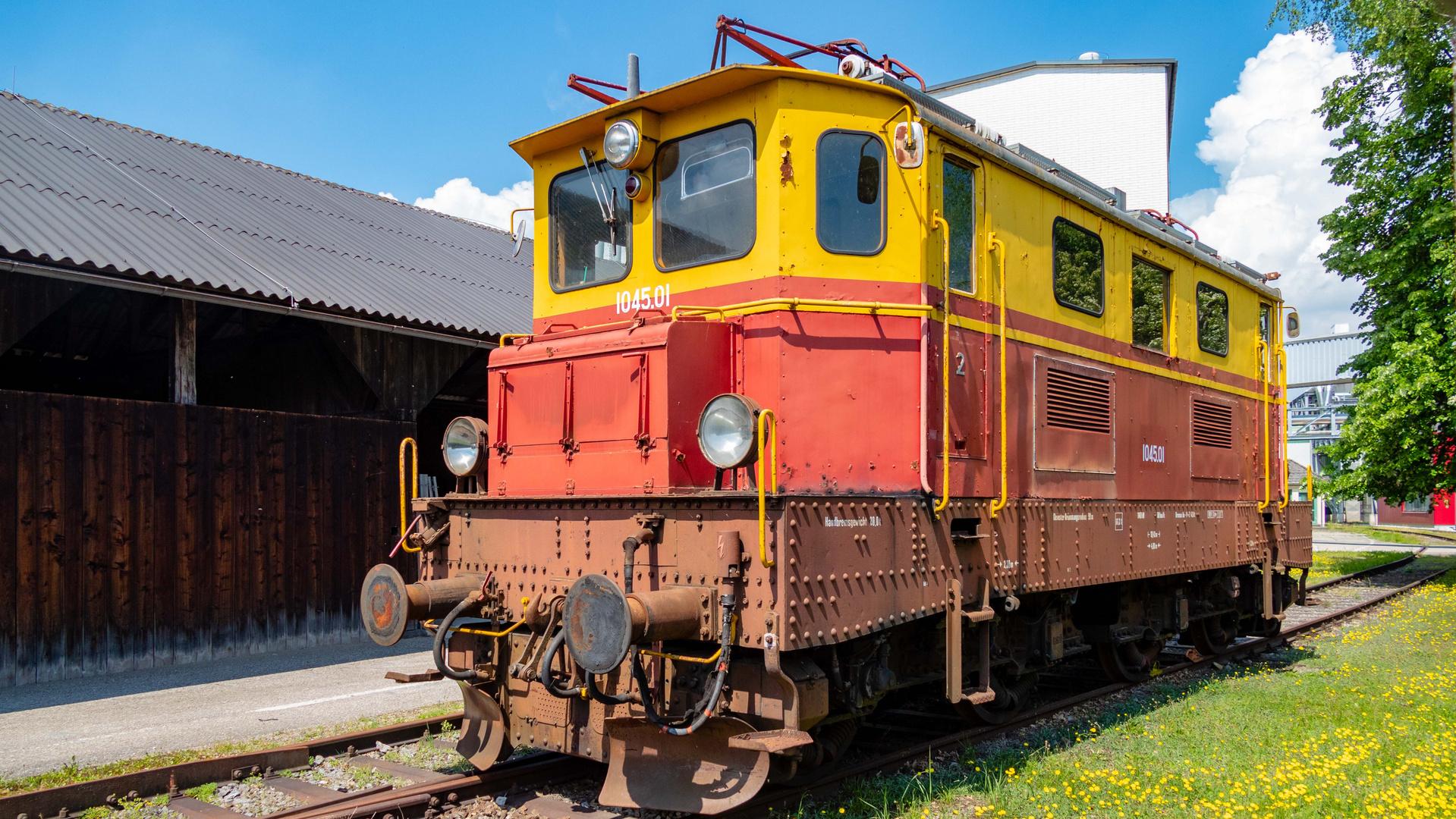 Österreichische Ellok Baureihe 1045.01