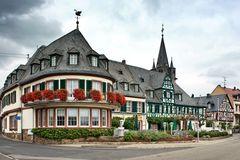 Oestrich - Rheinallee - Hotel Schwan