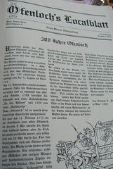 Ofenlochreport 300 Jahre in Wien
