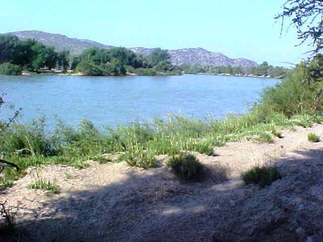 Off-Road Angola/Namibia border Cunene river 2