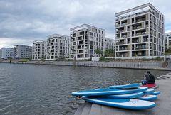 Offenbach: Hafen – SUPs