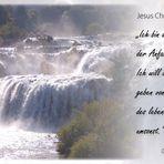 Offenbarung 21,6...Alpha und Omega....Ströme lebendigen Wassers
